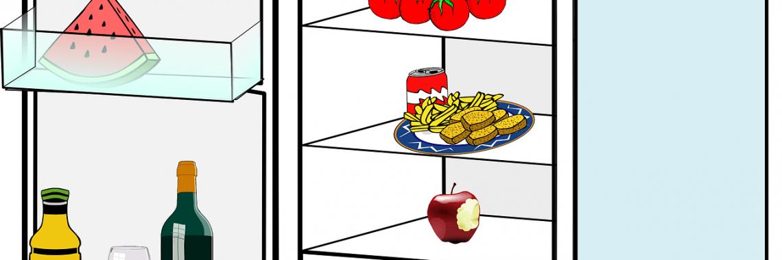 Frigorifico con alimentos